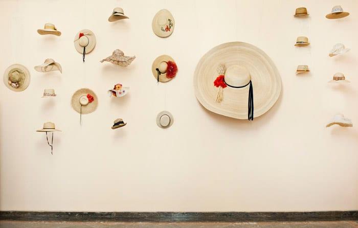 cappelli di paglia: oggetto tipico nell'artigianato fiorentino