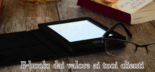 E-book uno strumento di web marketing utile?
